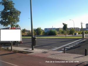 Zonas de precaución en el anillo verde: semáforo en Sanchinarro. Nueva sección en nuestro blog.